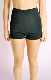 High Waisted Hot Pants